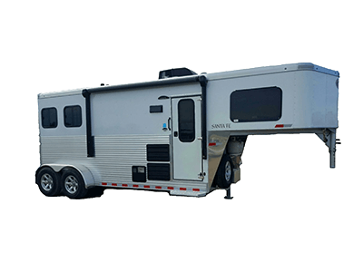 living quarter trailers