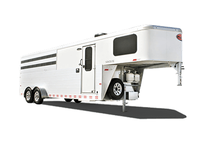 living quarters horse trailers