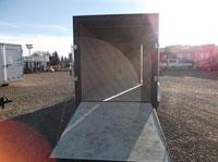 C-Jay 7x14 Enclosed Cargo w/ 5' V-Nose Ramp