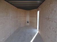 C-Jay 7x14 Enclosed Cargo w/ 5' V-Nose Interior
