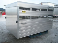 Sundowner 4 x 6 Stock Box Curb Rear