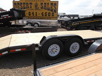 Trail Tech 7x18+2 Equipment Trailer Axles